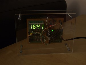 My arduino clock